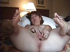 Wife alone in hotel room