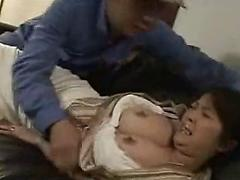 Japanese mature with big boobs