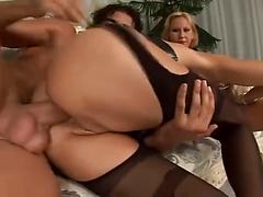 MILF For A Hot Threesome.