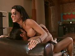 Cheating Housewife Rides And Glides On Big Hard Cock
