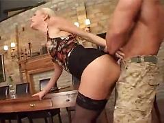 Blonde Slut With Banging Body Gets Fucked In Kitchen
