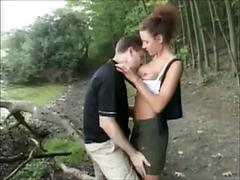 Outdoor Public Pussy Licking And Fucking