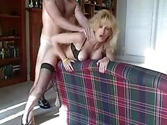 Chunky Hot Mom Gets Pussy Banged In Doggy Style