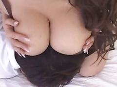 Cute Asian Slut Getting Her Huge Tits Licked