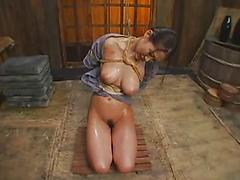 Hot Asian Chick Exposed After Being Bondaged