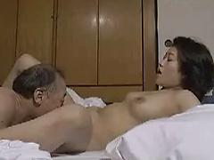 Asian Couple Having Steamy Sex In The Bedroom