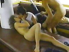 Classic Scene With A Lovely Woman With A Hairy Bush