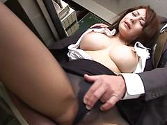 Asian Hottie With Tight Hairy Pussy Gets Fingered