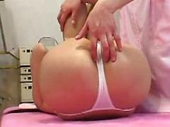 Hot Asian Babe Gets A Massage From Lesbian Gal