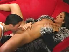 Lovely Latino Ice Gets Her Pussy Waxed