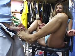 Leanna Heart In Foot Worship And Fuck With Mark Wood