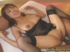 Gets her big boobs shook and is anal fucking part 2