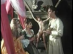 The marquis ravishes two wenches