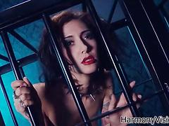 Two strong guys fuck the two exquisite babes in BDSM style