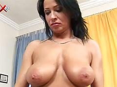 Lesbian milfs with big juicy tits fist and toy their delicious cunts