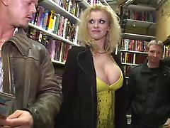 German Pornstars Fucking In A Videoclub