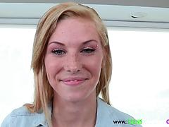 Big cock Lover Teen With Freckles Fucking
