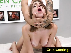 Joseline Kelly Restrained While Worshipping Cock