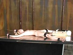 Bondage and fucking machines (morgan) - 23