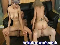 Partner swapping foursome